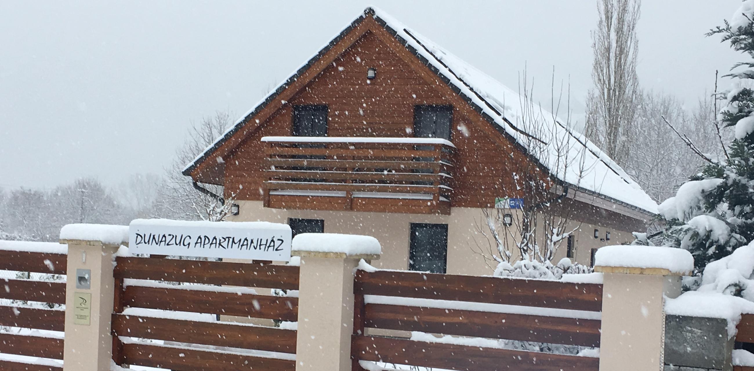 Dunazug télen